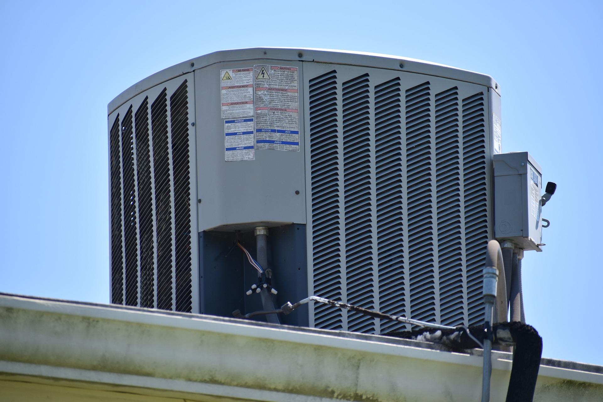 HVAC on a roof